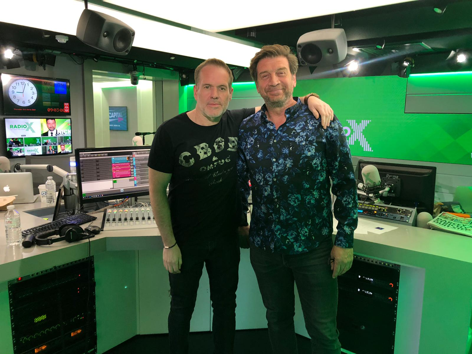 Nick Knowles, Radio X, 11:4:19.jpg