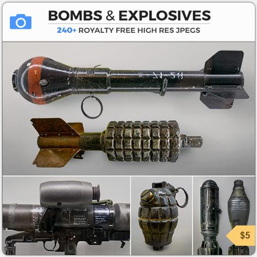 BombsExplosivesMinesGrenades