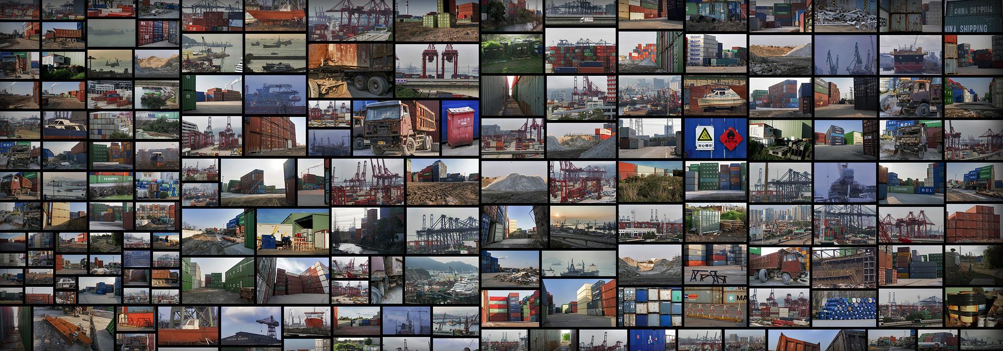ShippingContainersHarbourDocks