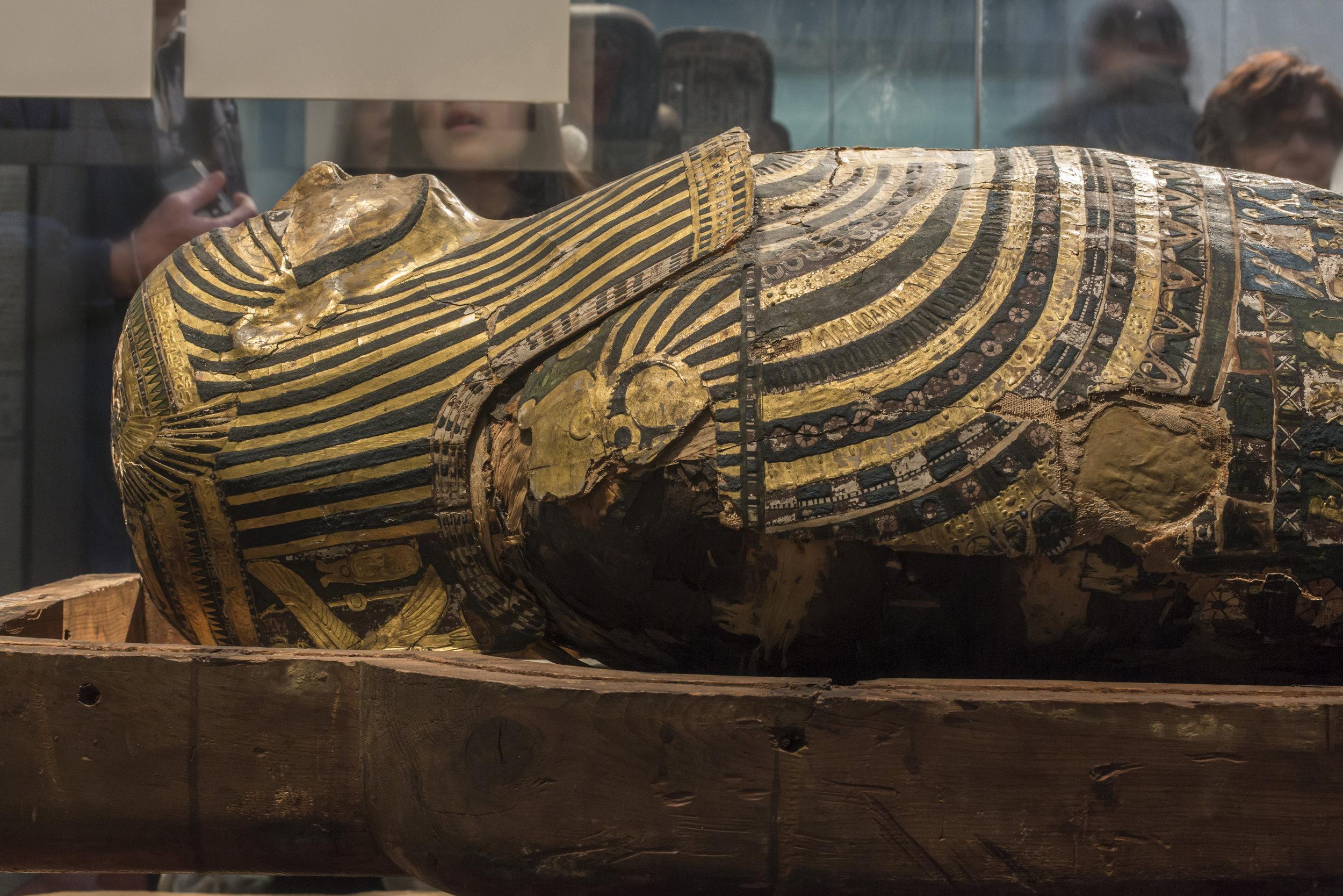 Egyptian Artifacts Ancient Sarcophagus Mummy.JPG