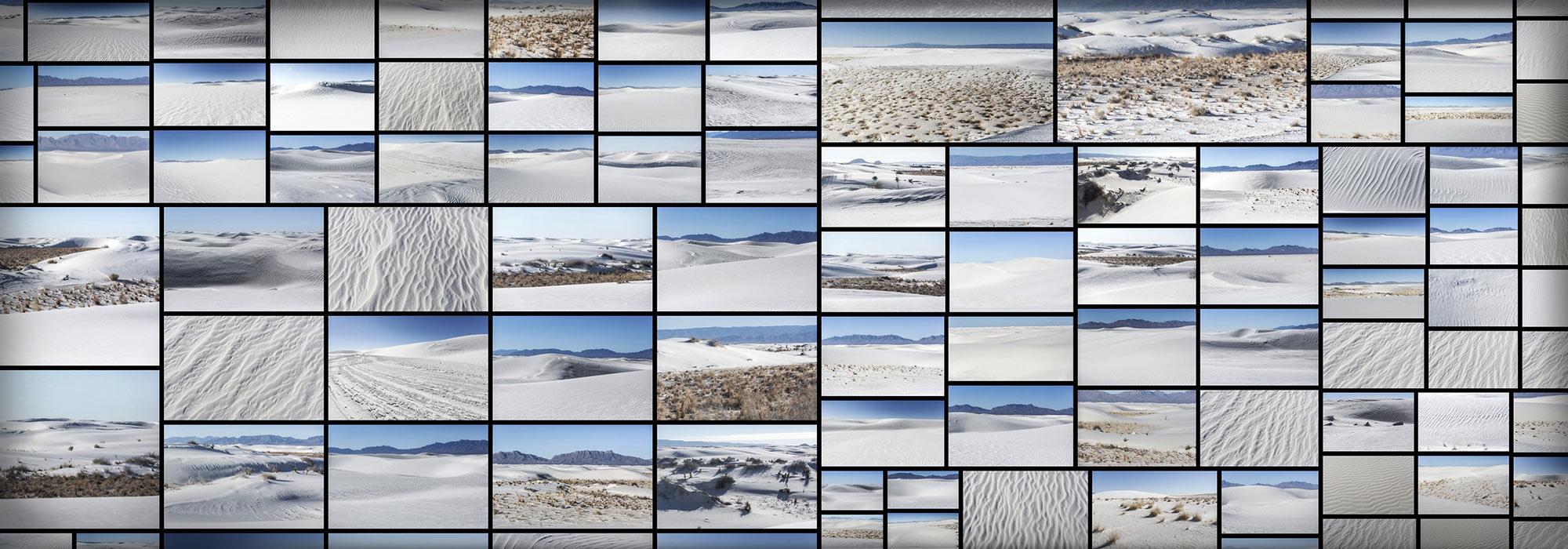 White Desert Desolate Wasteland