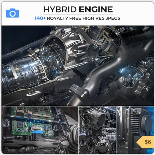 Hybrid Engine Scifi Design