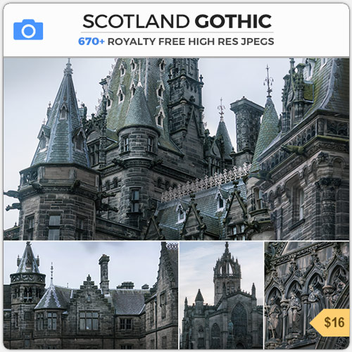 Scotland Gothic Dark Fantasy References