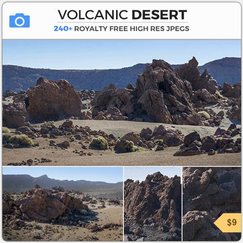 VolcanicDesertDesolateWasteland