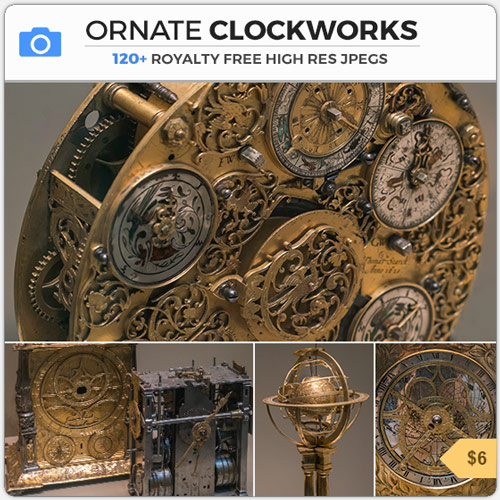 OrnateClockworksSteampunkMechanisms