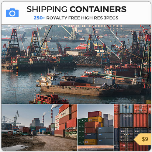 ShippingContainersDocksHarbor