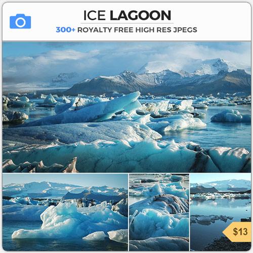 IceLagoonFrozenGlacierLake