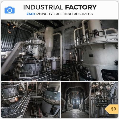IndustrialFactoryPipesWarehouse