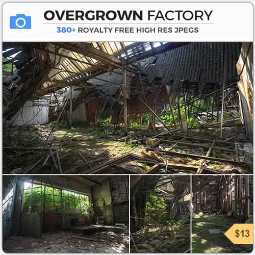 OvergrownFactoryDerelictInterior