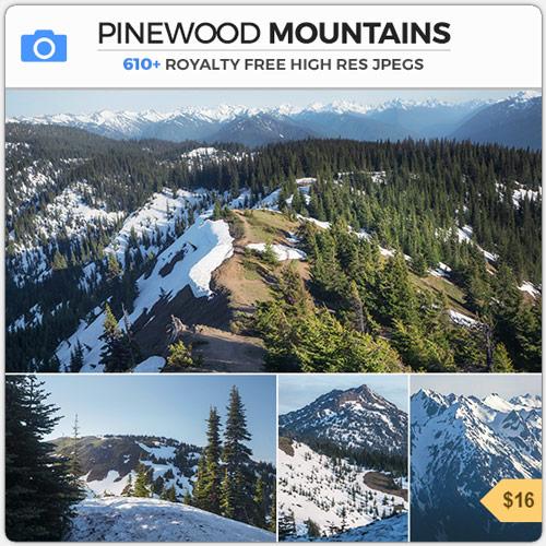 PinewoodMountainsSnowEnvironment