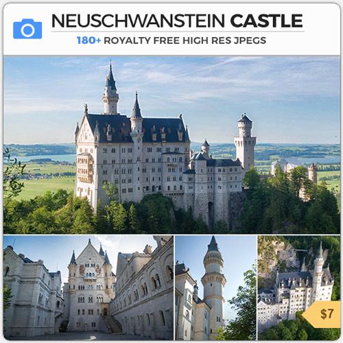 NeuschwansteinCastleFantasyArchitecture