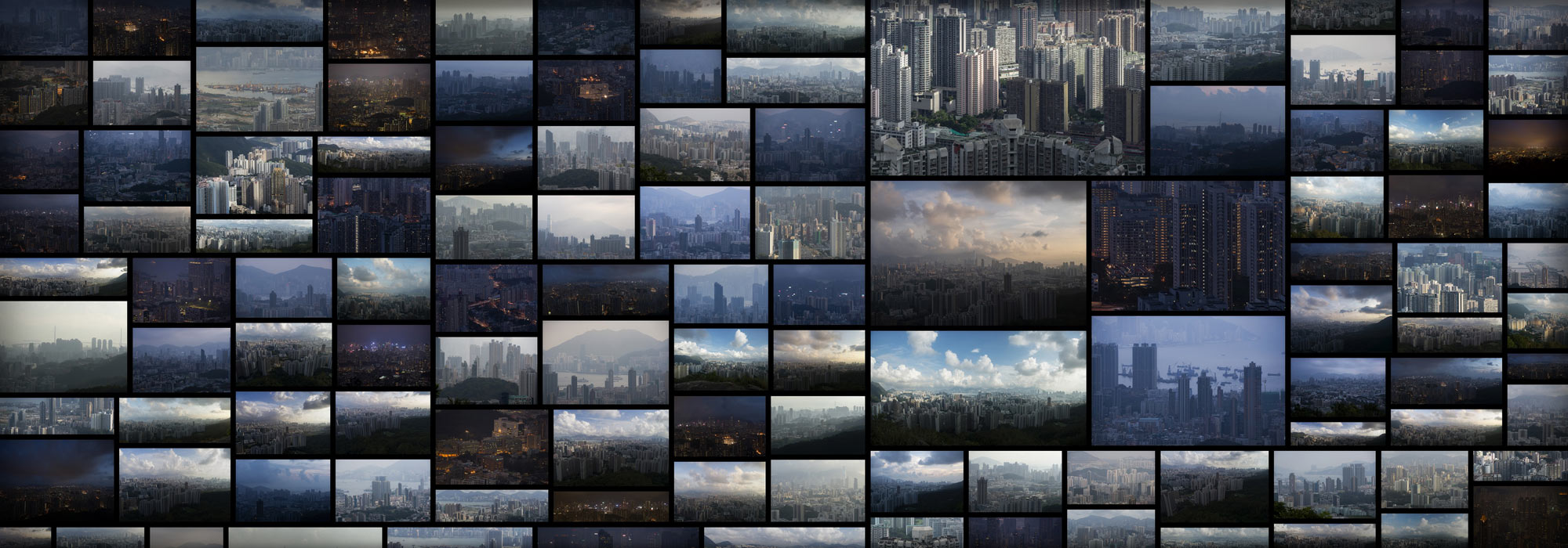 HongKongSkylineScifiCity