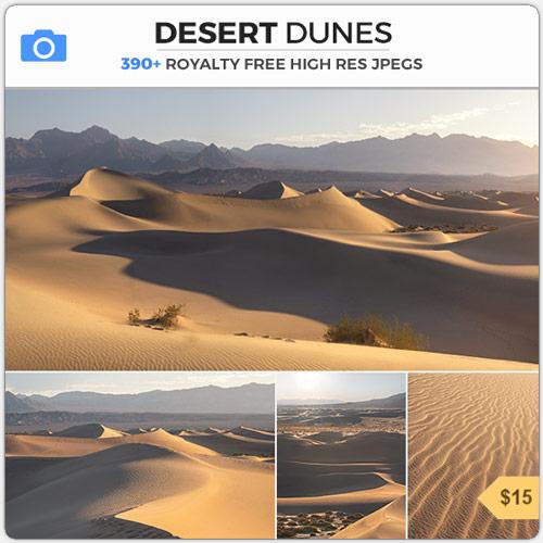 Desert Dunes Sahara Wasteland