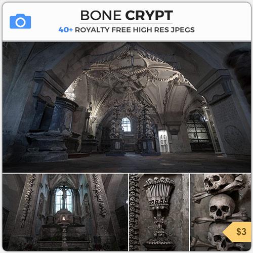 Bone Crypt Tomb Catacomb Skulls