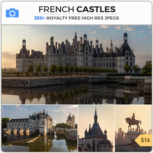 French Castles Fantasy Chateaux Medieval