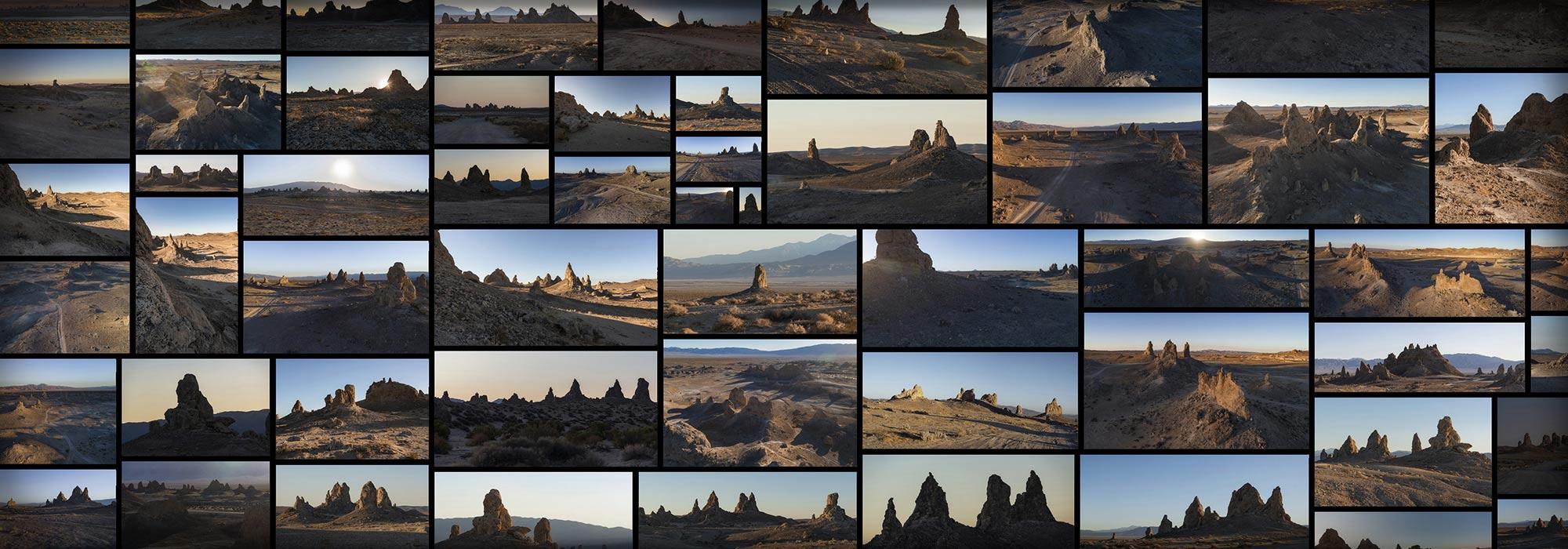 Trona Pinnacles Desert Alien Rock Formation Spires