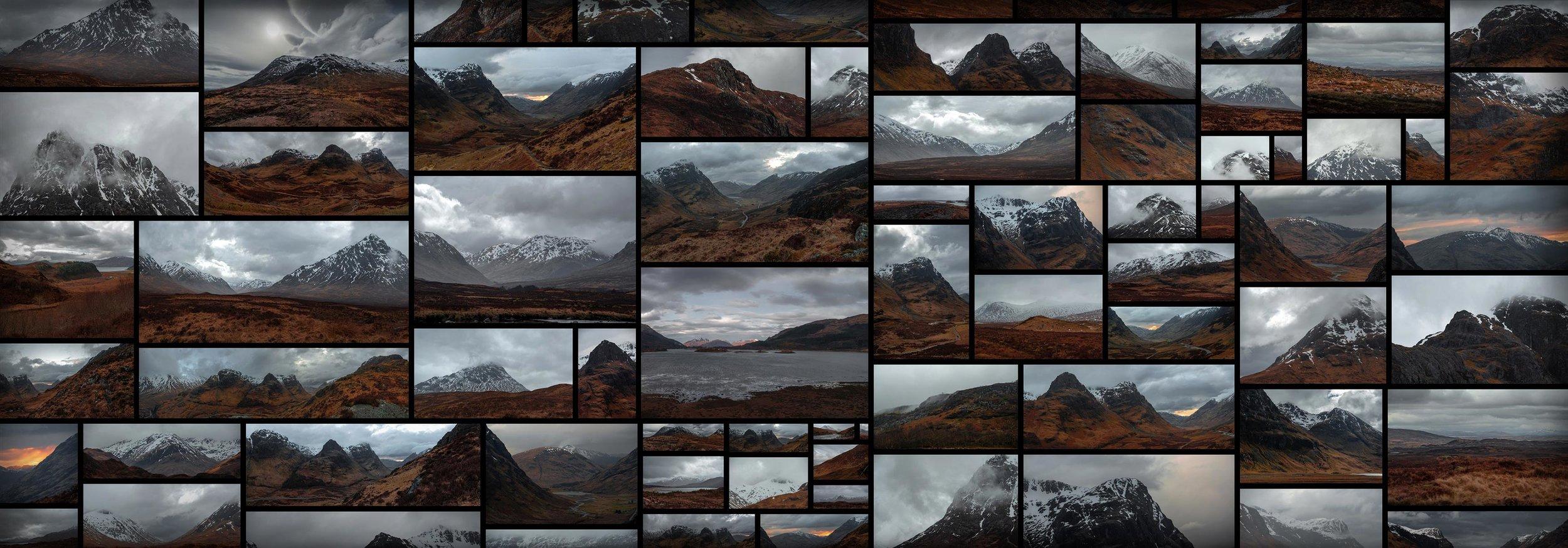 Scottish Highlands Dark Valley Ominous