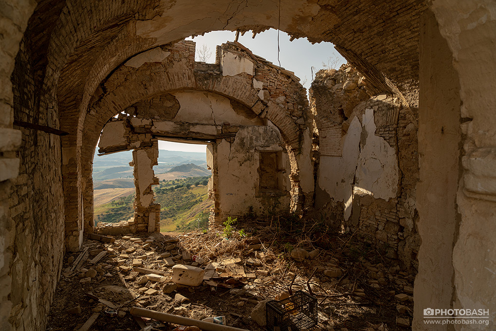 Sandstone Ruins Urbex Crumbling Tunnel.jpg
