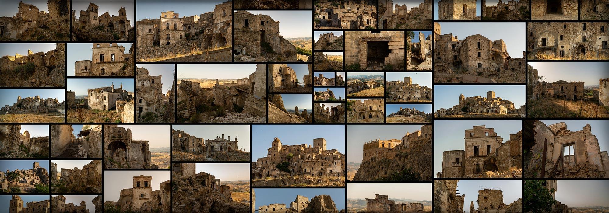 Sandstone Ruins Abandoned Medieval Village