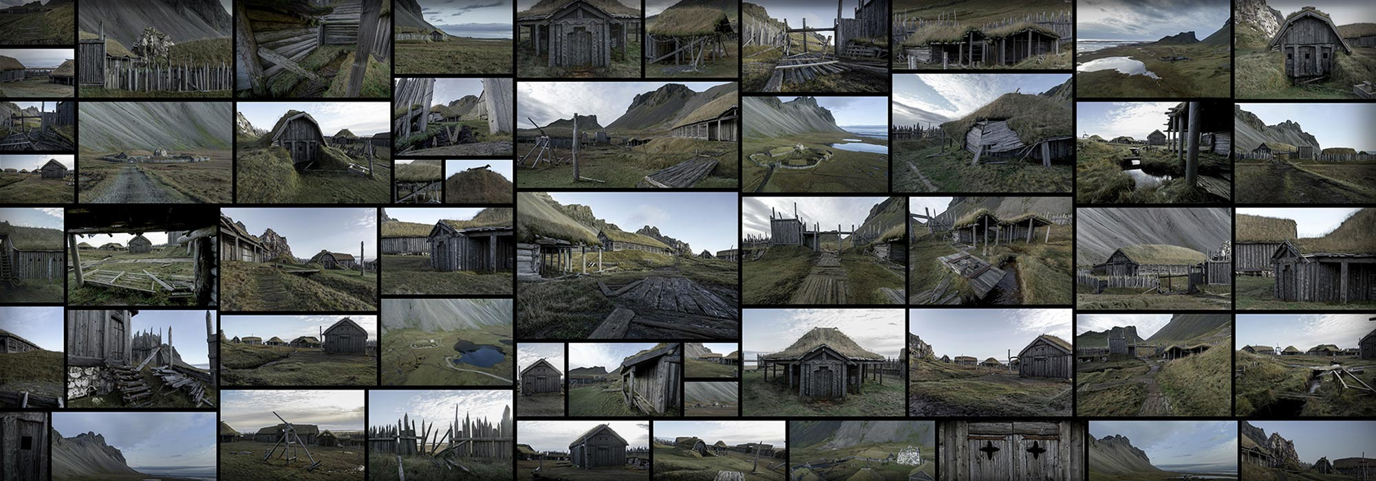 Viking Output Ancient Abandoned Village