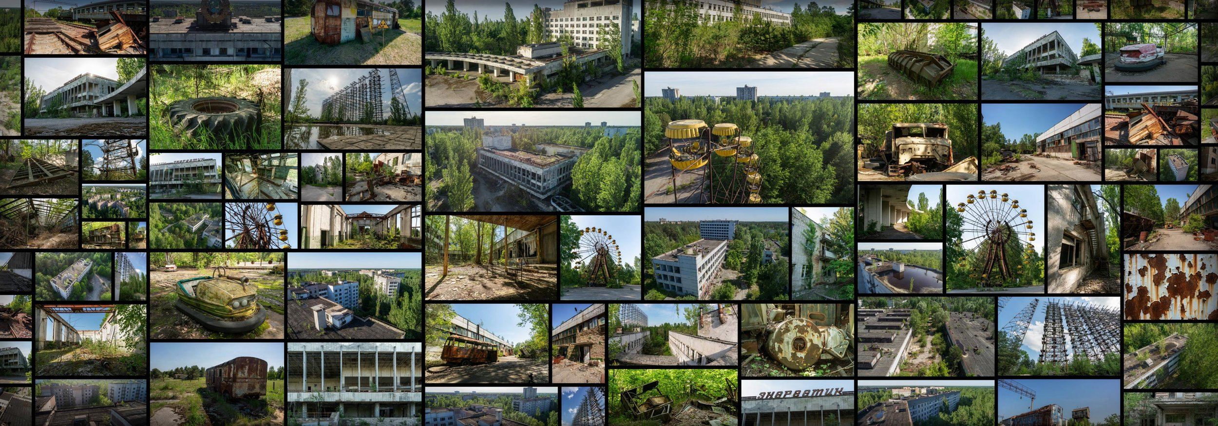 Chernobyl Exclusion Zone HBO Pripyat Nuclear Power Plant Radiation 1986