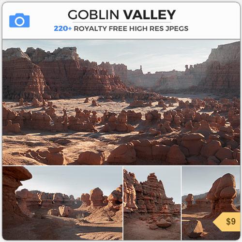 Goblin Valley Arid Alien Canyon Rock Formations
