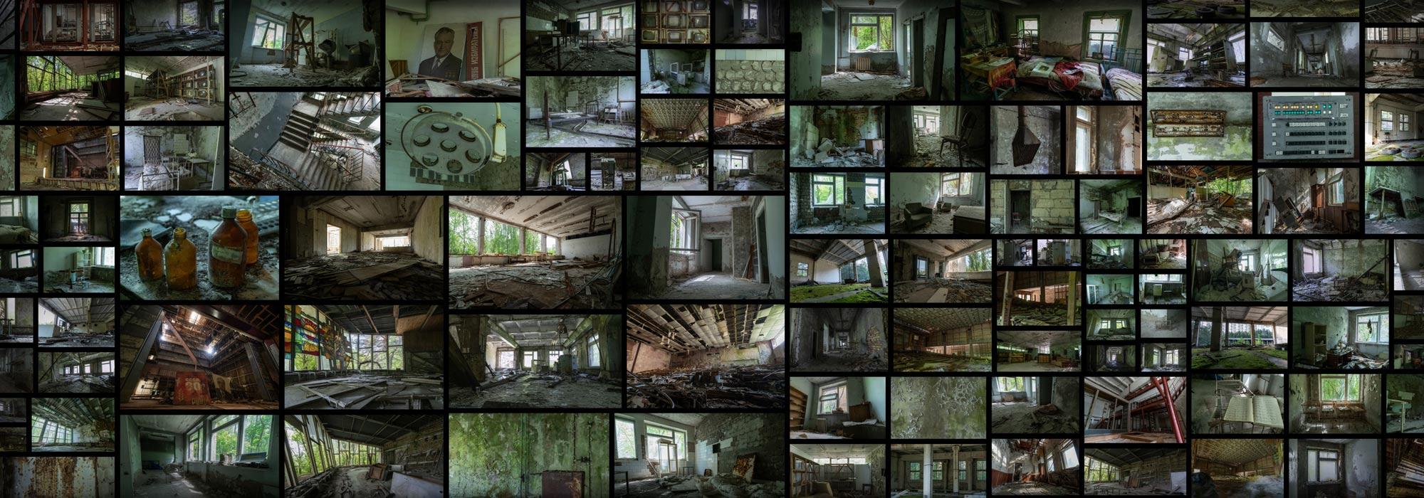 Pripyat  Interiors Radioactive Abandoned Chernobyl Town