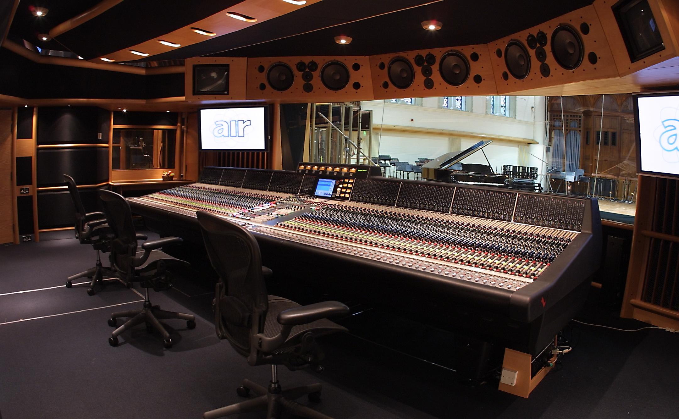 Air Studios Sound Board