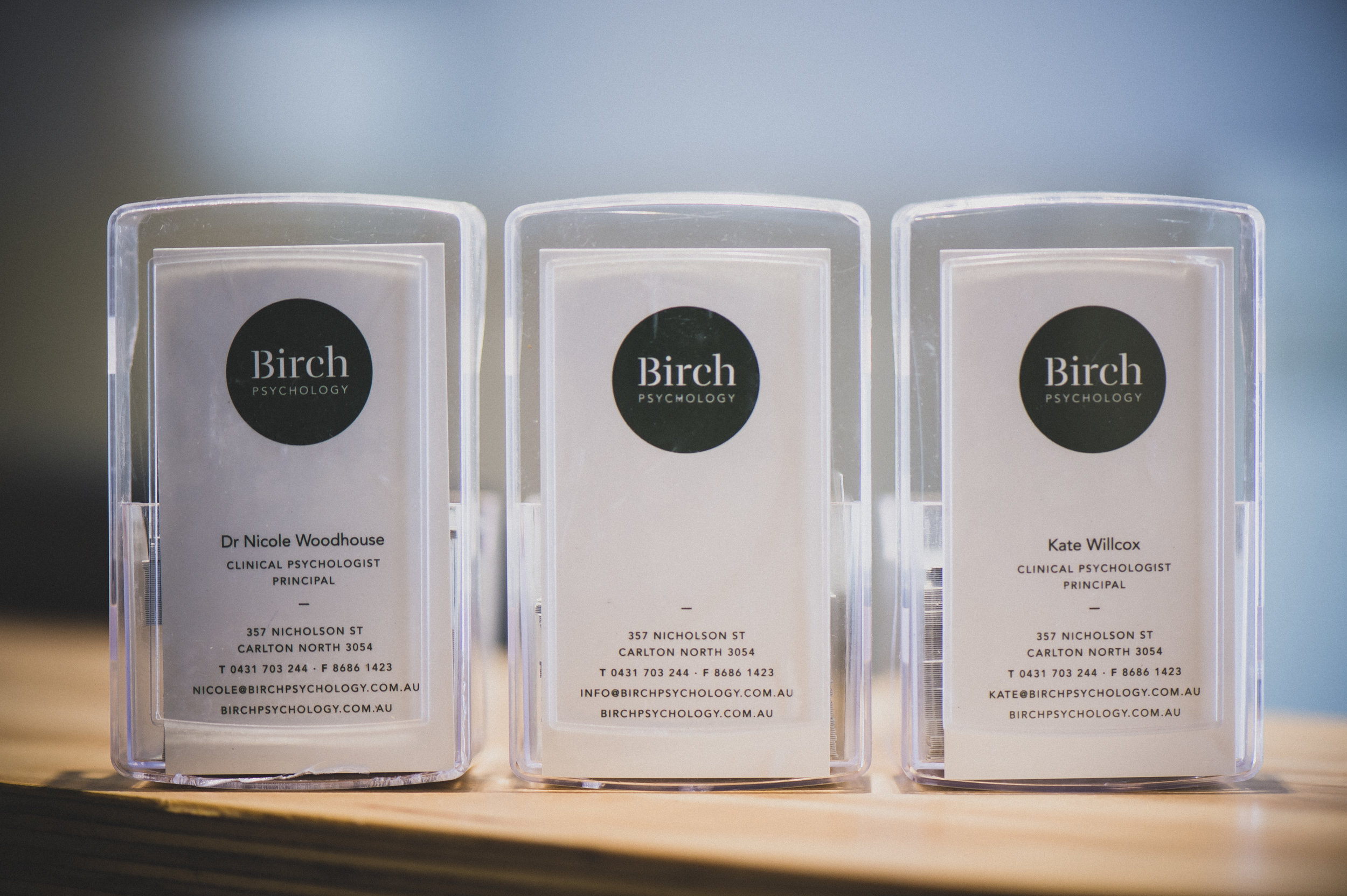 Birch Psychology Clinical Psychologists Fitzroy North Carlton North Cards