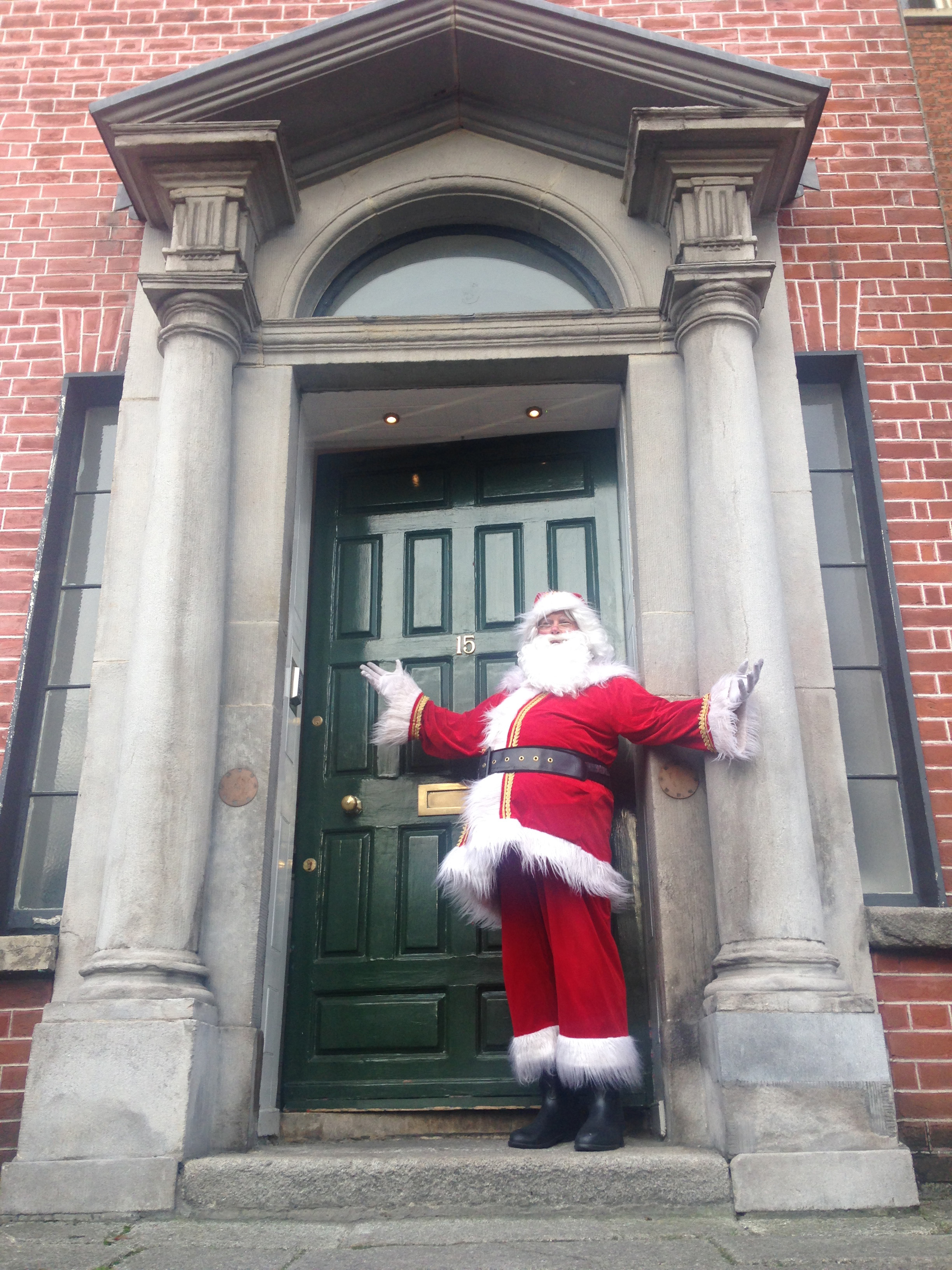 Santa at the Little Museum