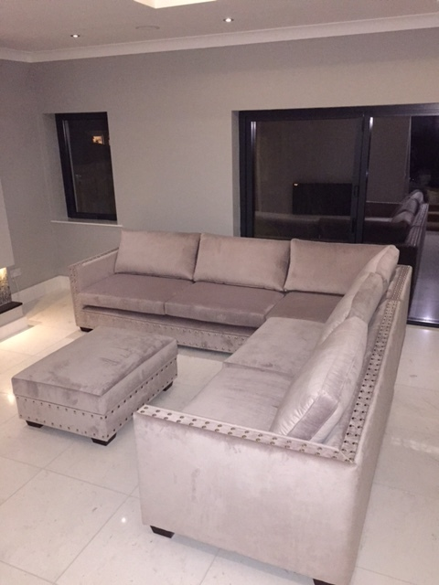 Private clients bespoke sofas