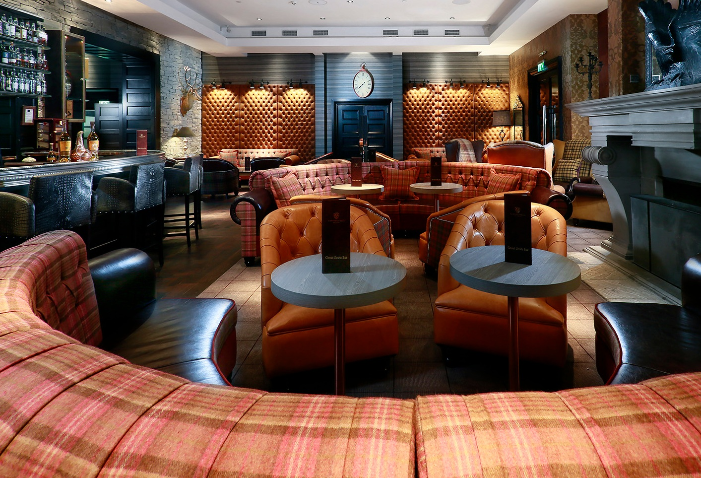 Bespoke Bqt Seating for Cameron Grill