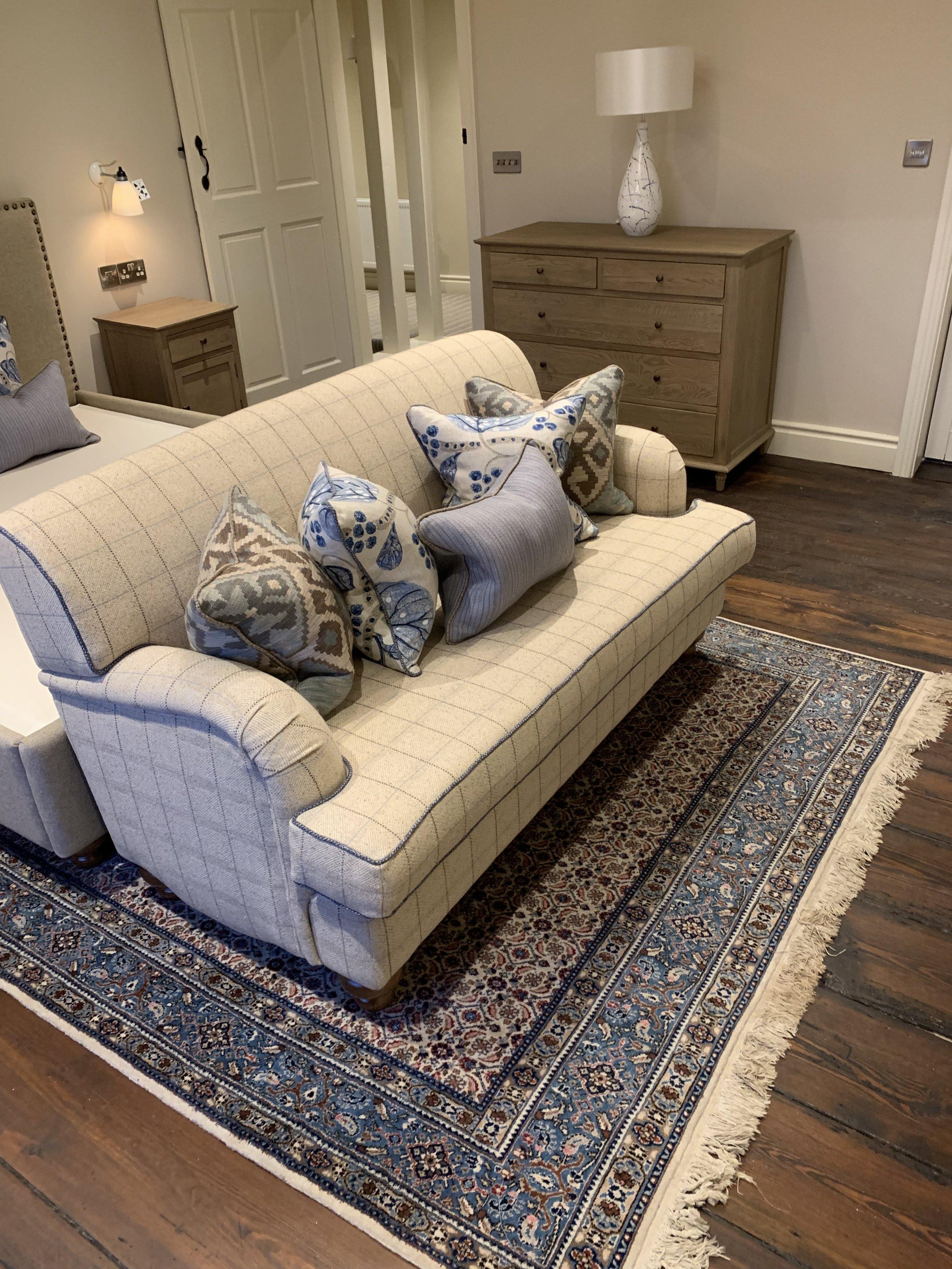 Bespoke sofa private client