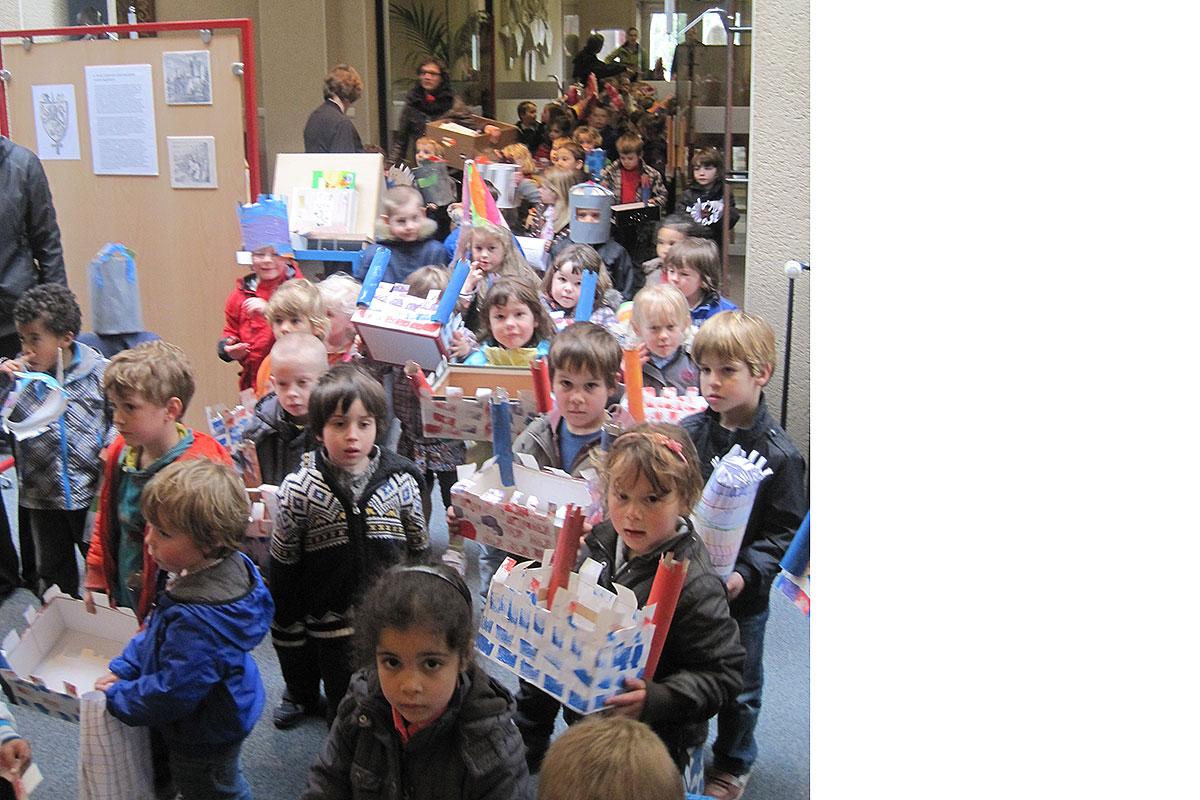 Erfgoeddag 2012 Helden kleuterschool