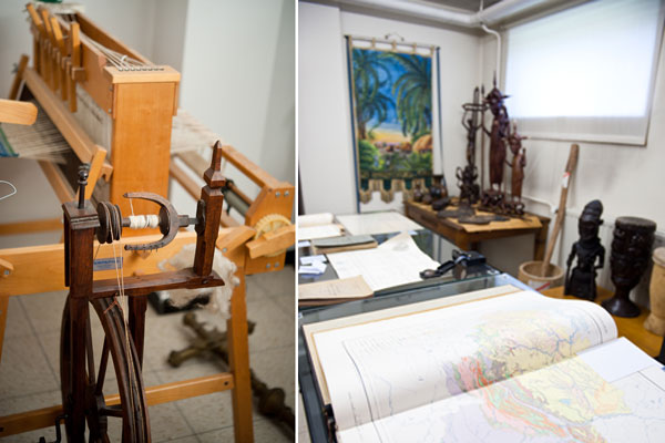 Museale collectie Muzenberg