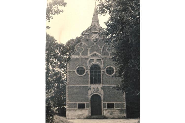 Kapel van Steenbergen. Foto Assunta Grootaers. CEGAH