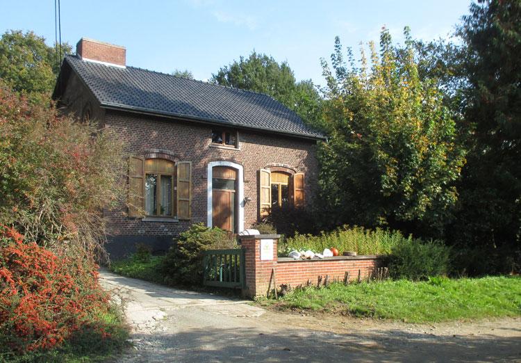 La Rosée: boswachtershuis. Foto RC
