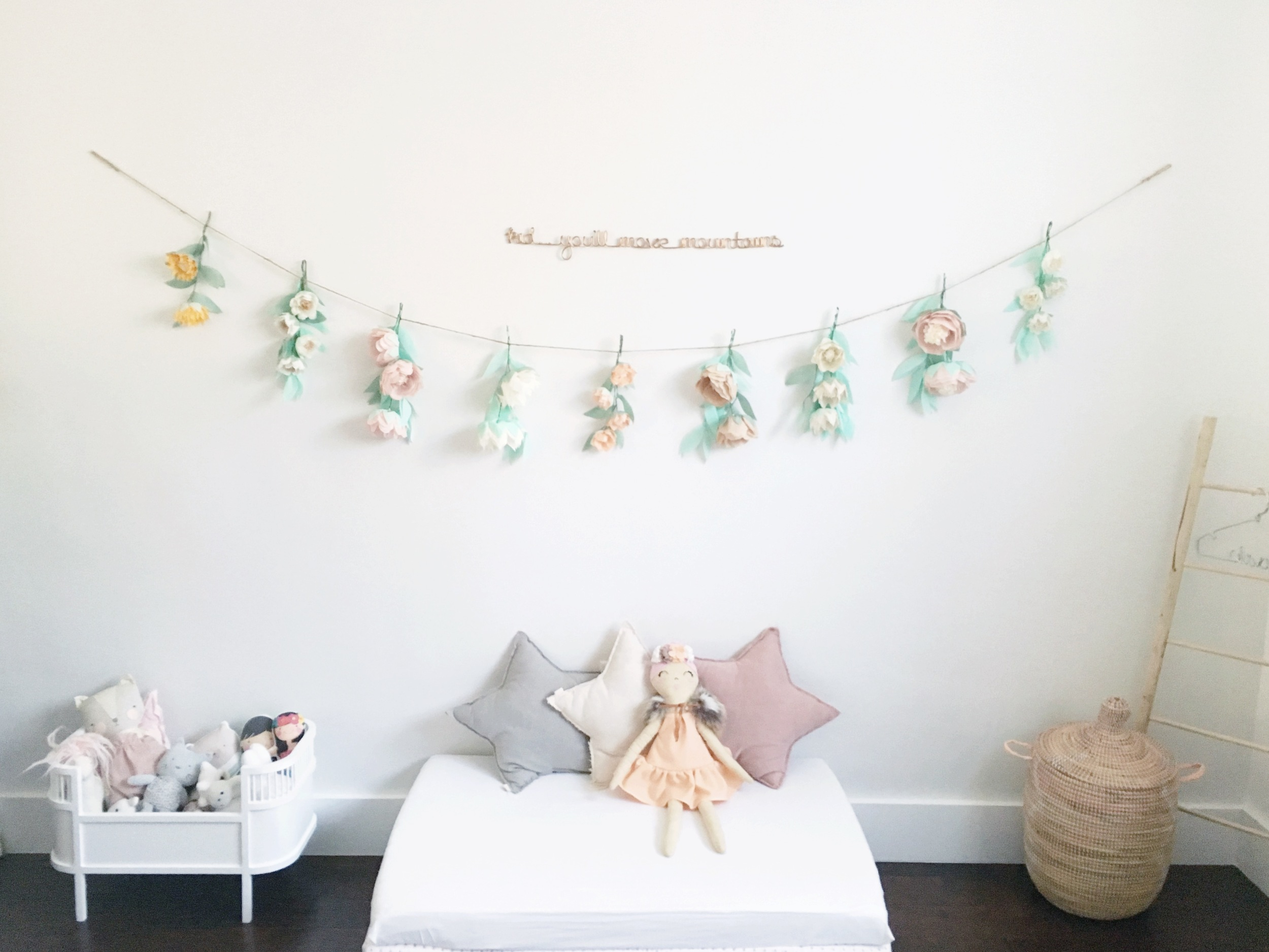 PS. It took me nearly 7 hours to make the garland in the photo.