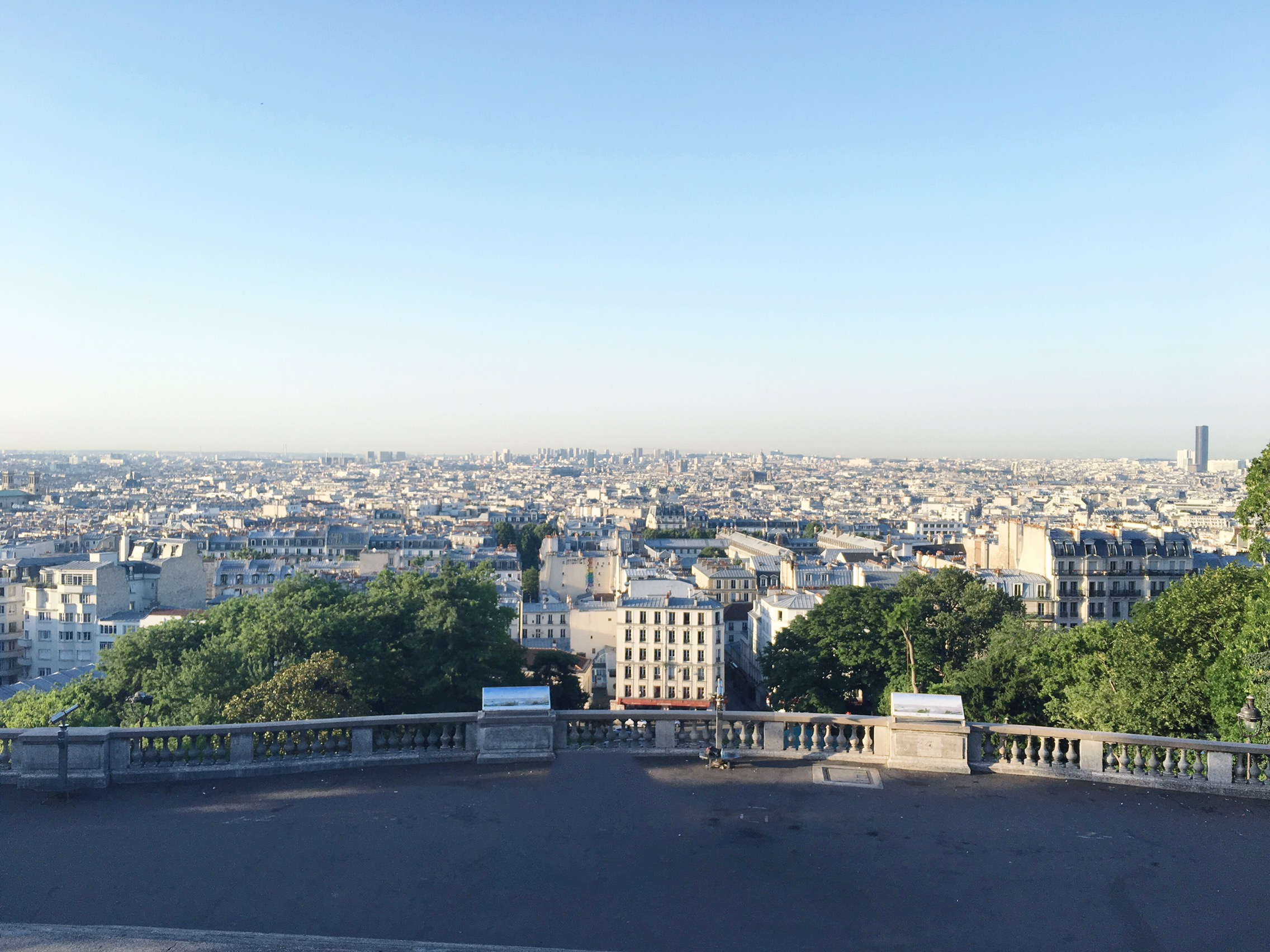 The view from Sacre Coeur on meethaha.com