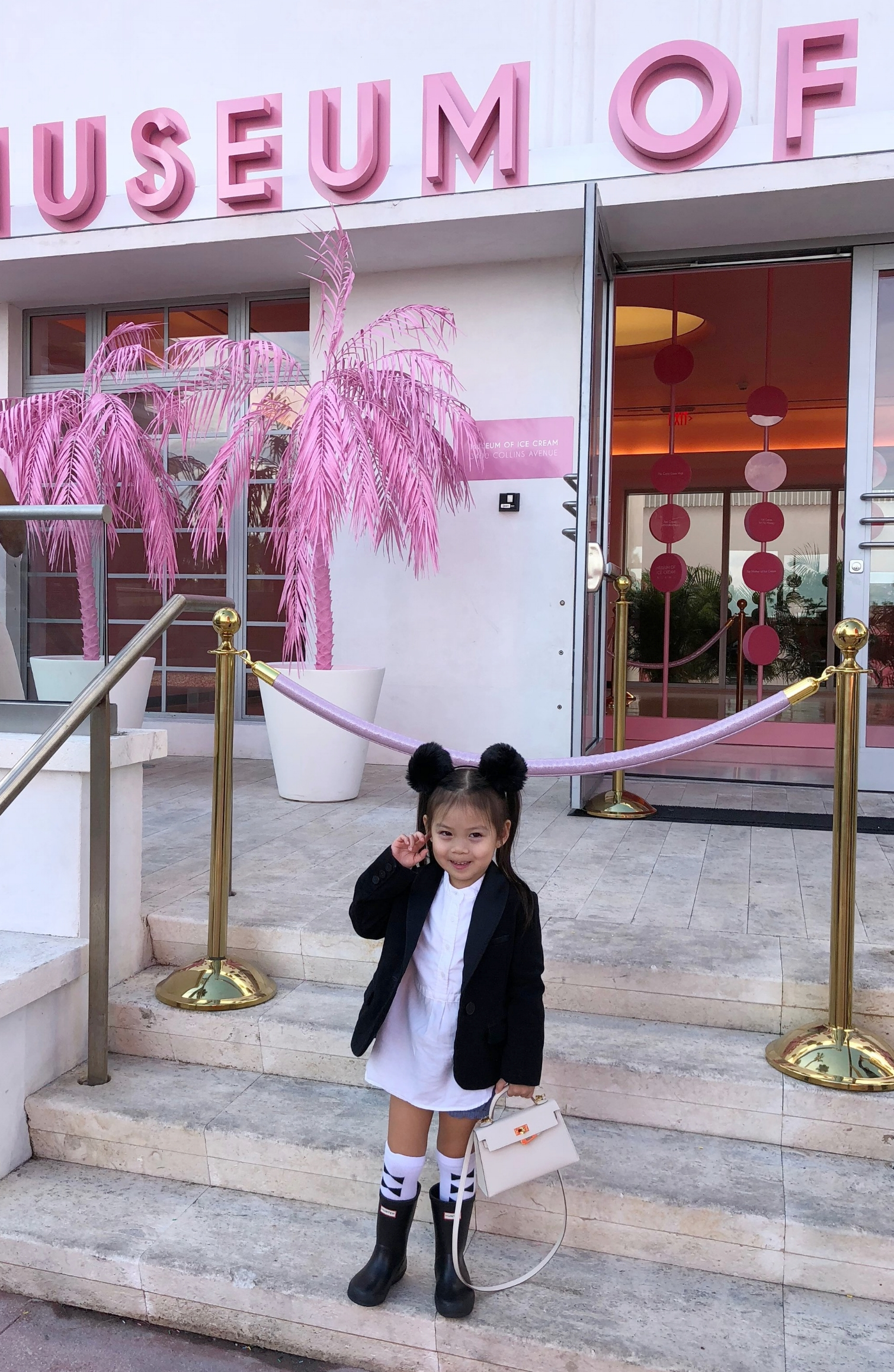 Olivia at the Museum of Ice Cream Miami on meethaha.com