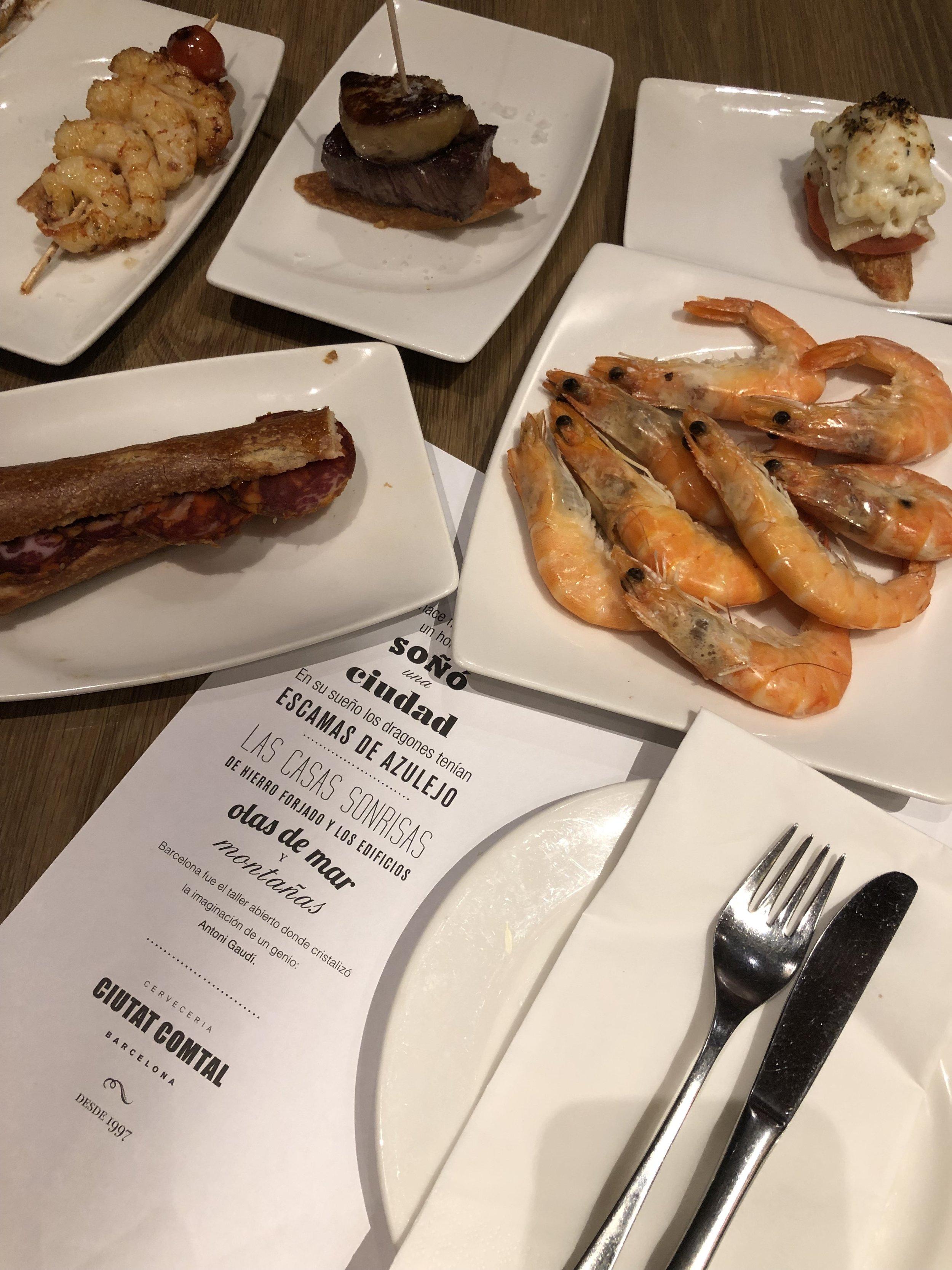Eating in Barcelona on meethaha.com