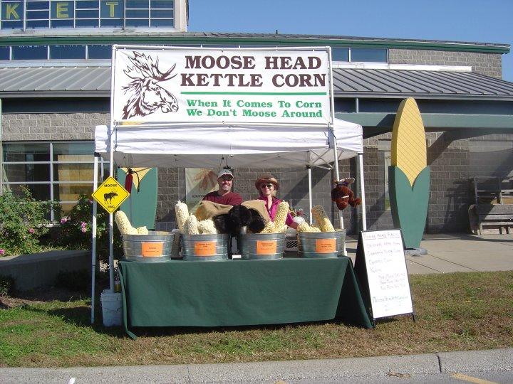 Moose Head Kettle Corn