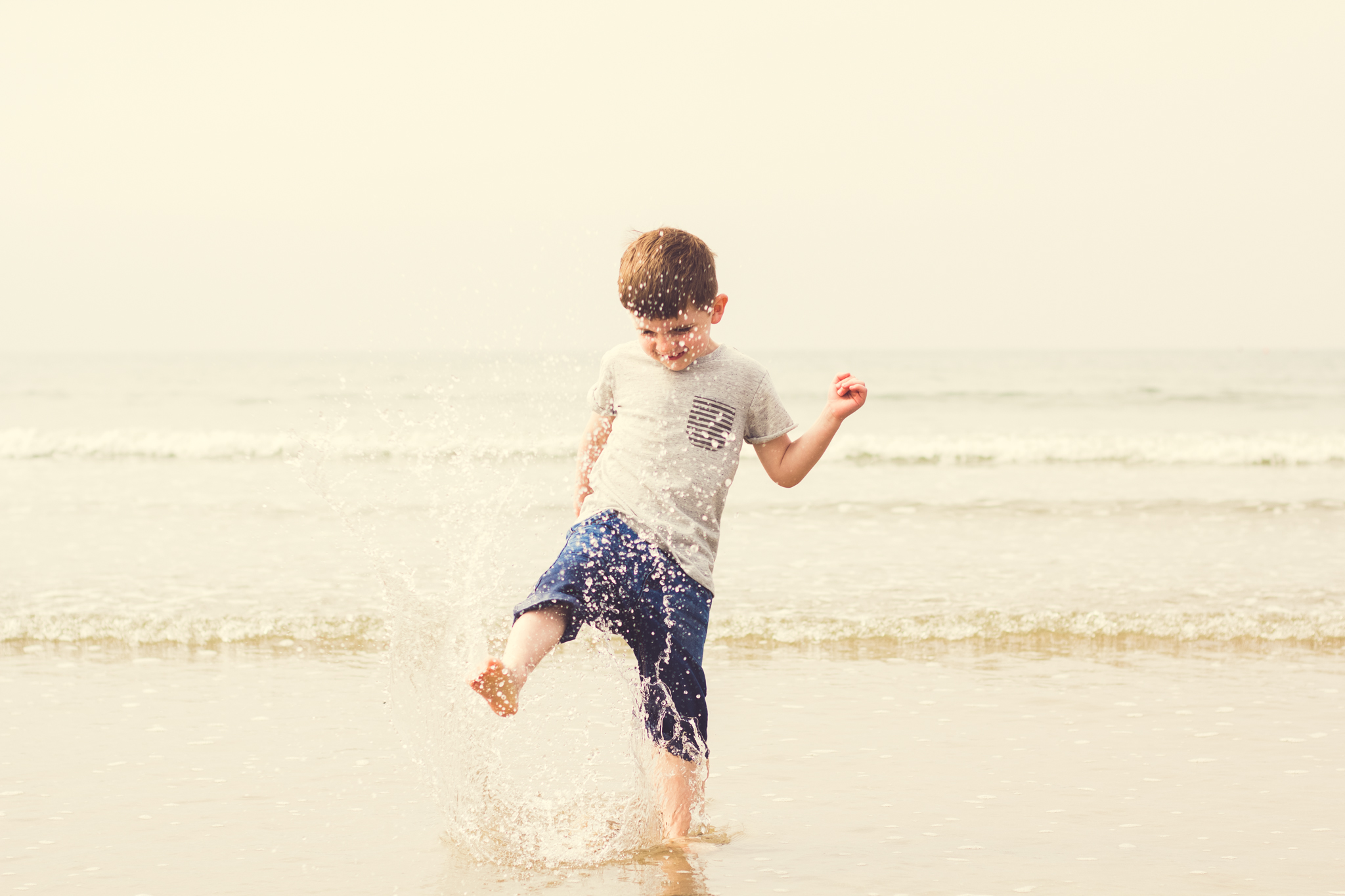 Taken in Porthmadog, Wales. {Photos by Ben - Family Photography in Cheshire}