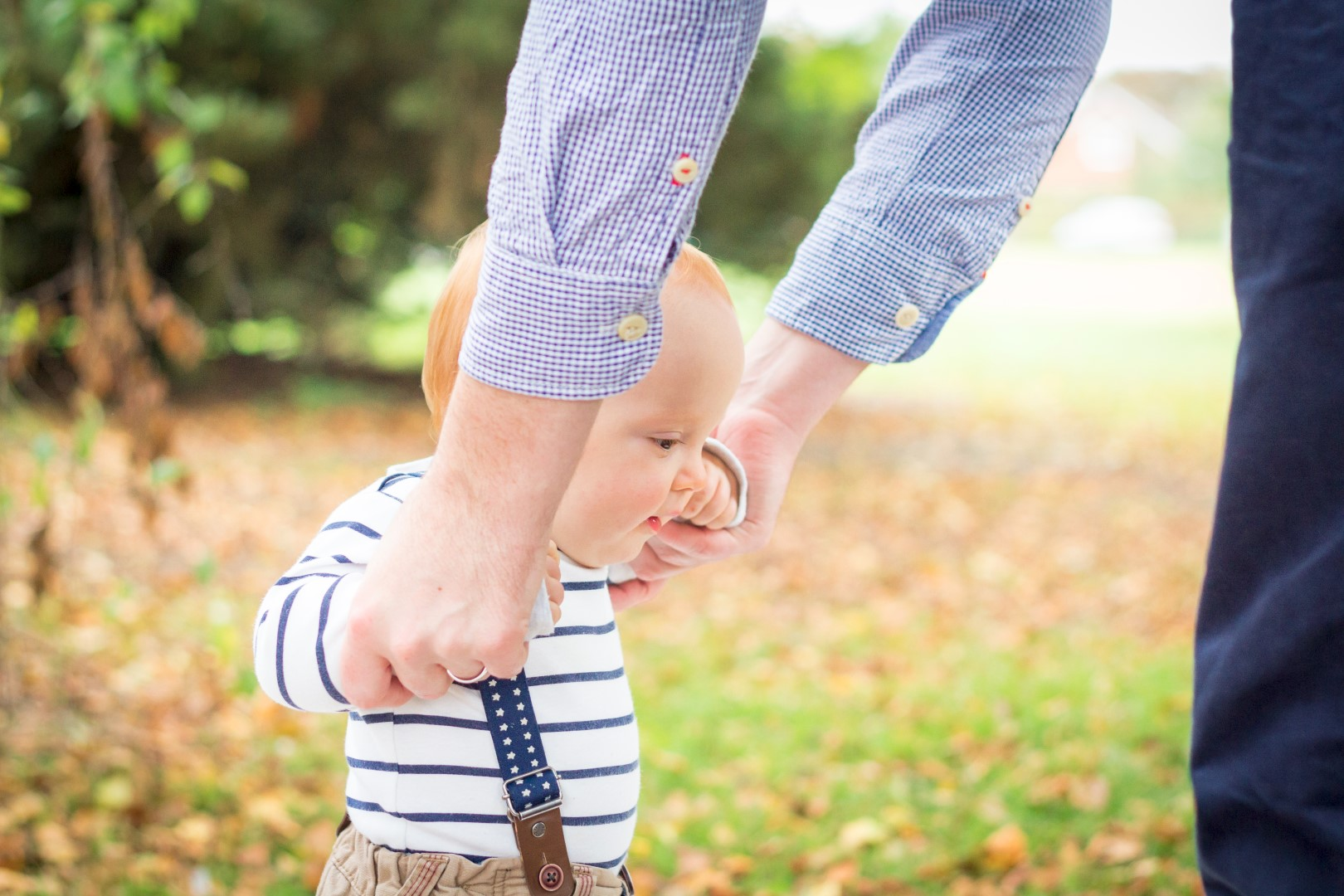 Learning to walk in the park!