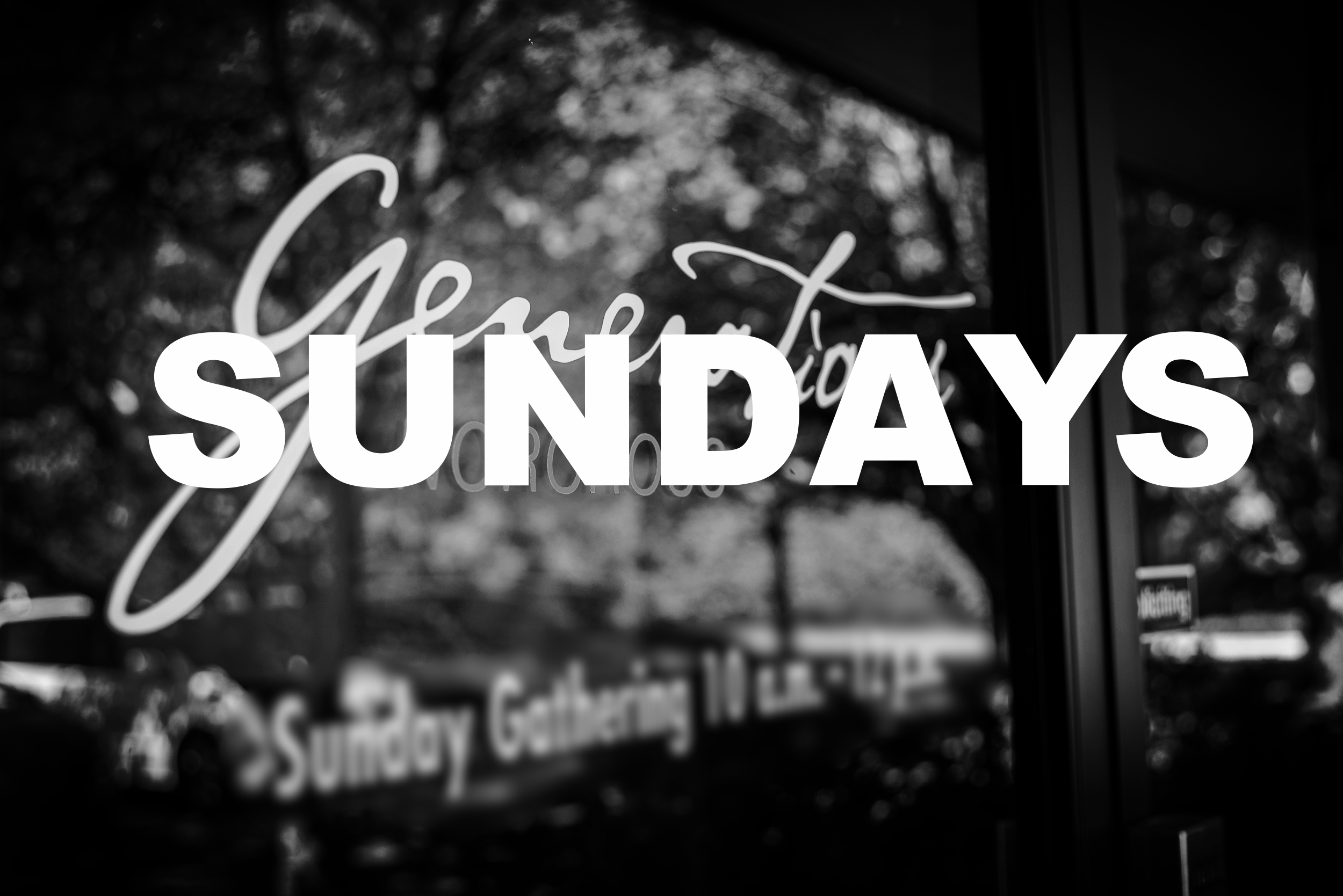 Sundays @ Generations