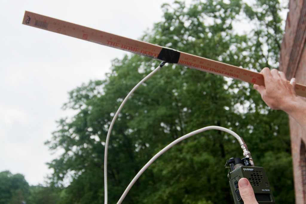 """I can truly make a functional antenna out of improvised materials."""