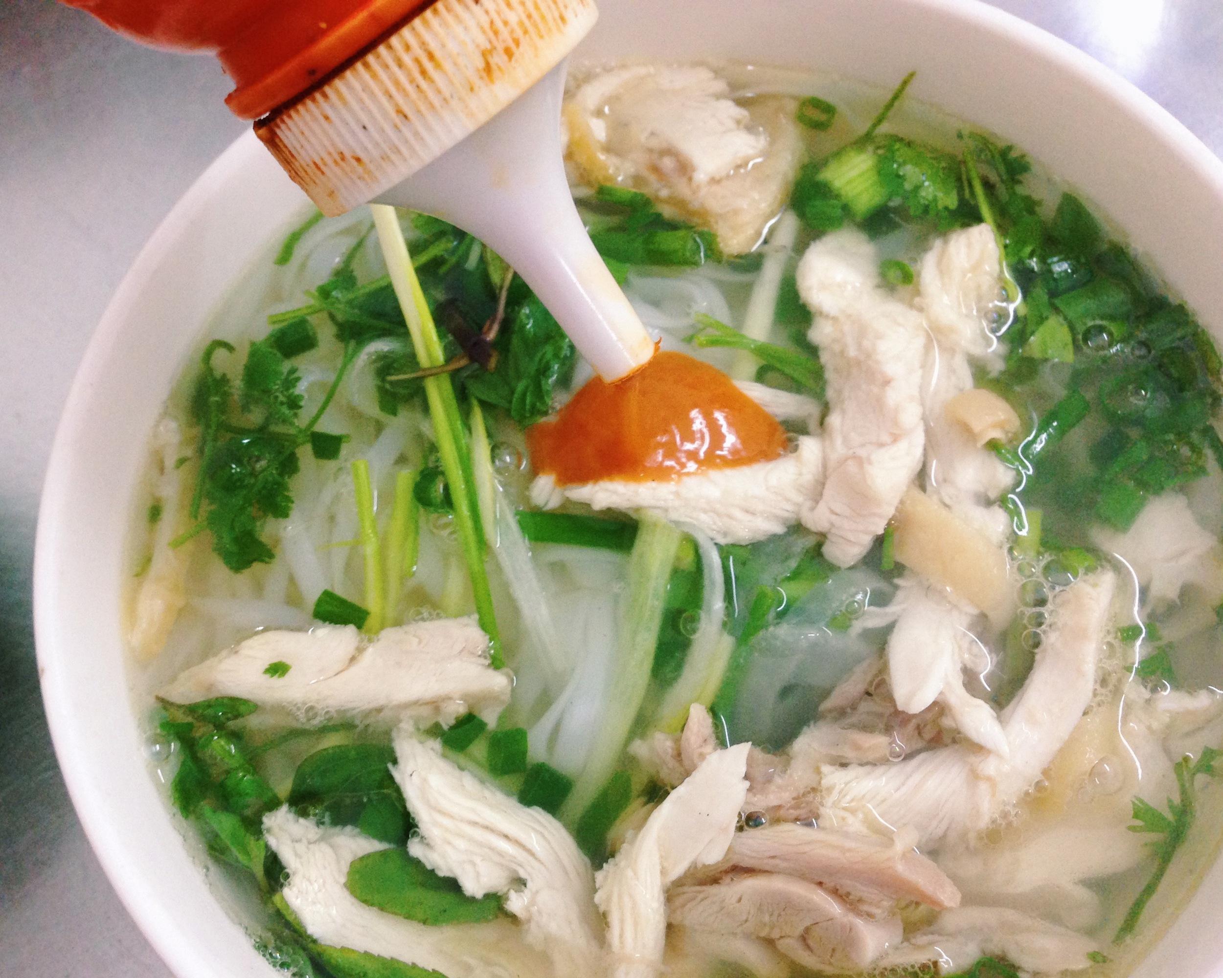 Chicken  Pho  in Hanoi, Vietnam