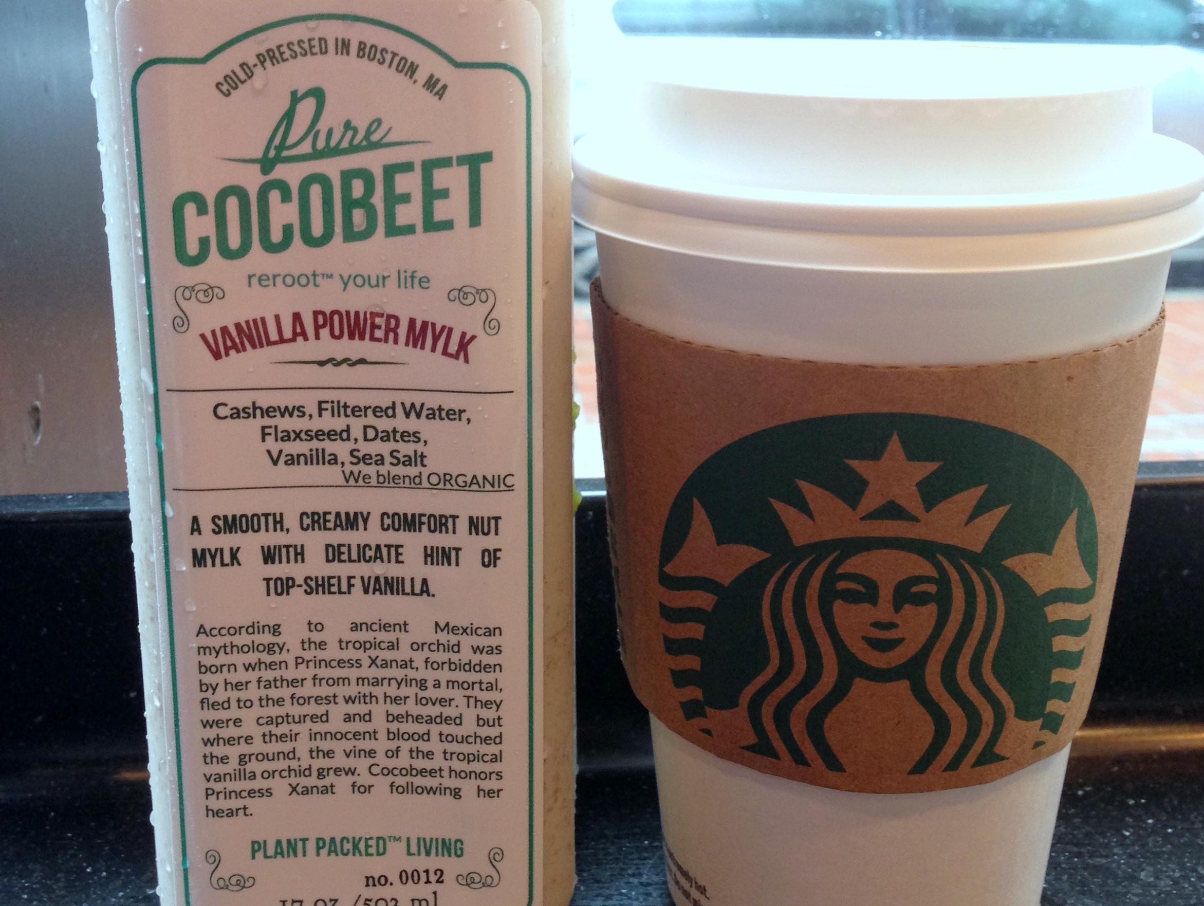 vanilla power mylk cocobeet juice cleanse