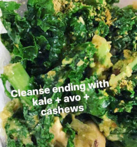juice cleanse salad