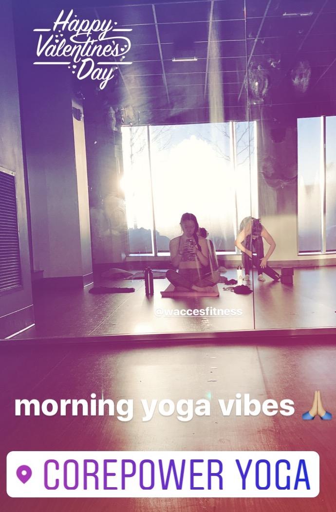 corepower yoga wacces